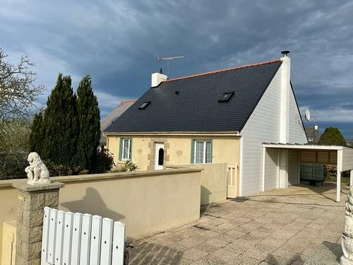 Rénovation hydrofuge toiture fibro-ciment - Coëtmieux