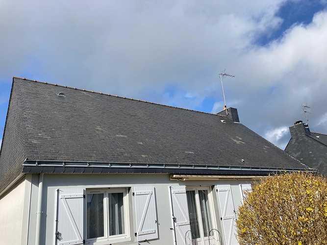Hydrofuge toiture sur ardoise naturelles - Hennebont index