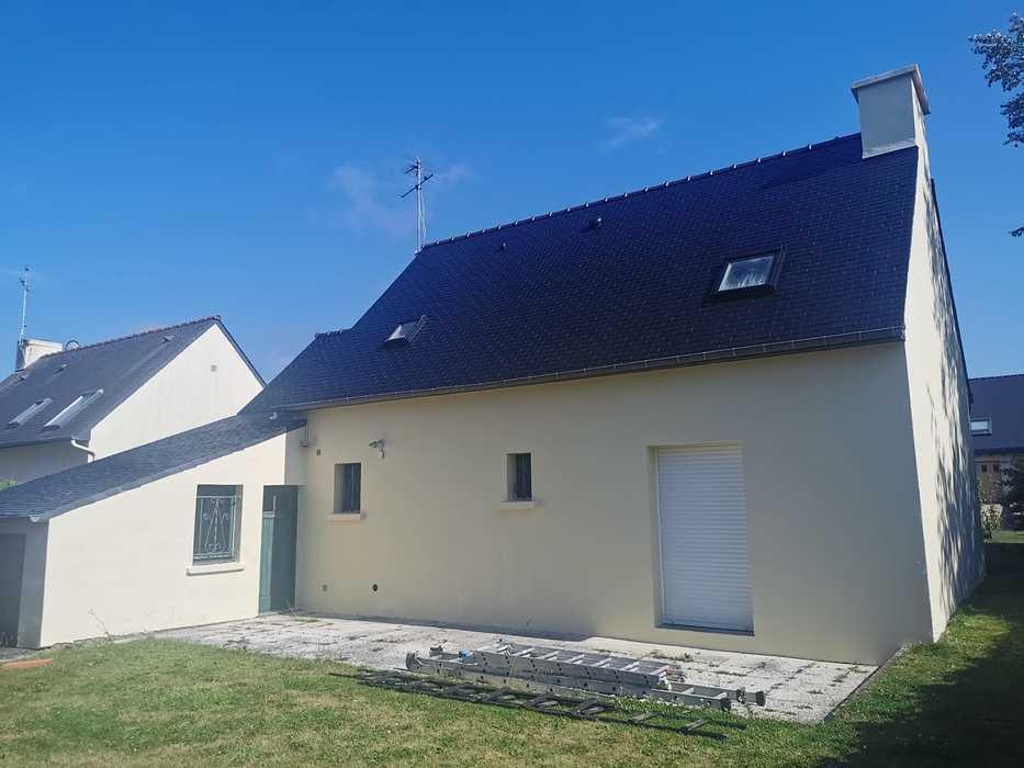 Rénovation toiture - façade - Langueux 0