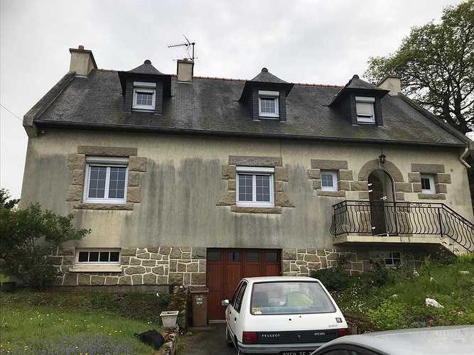 Rénovation façade et toiture d''une maison néo bretonne - Côtes d''Armor (22) 918a4d96-3f9f-4ae4-8cd8-063c7d7d21d1