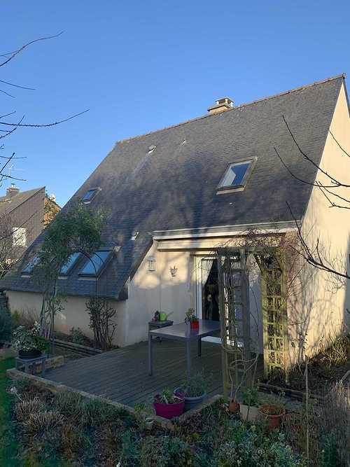 Traitement hydrofuge sur toiture en ardoises naturelles - Trégueux (22) img0624